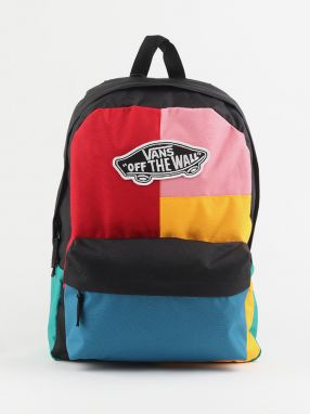 Ruksak Vans Wm Realm Backpack Patchwork Farebná