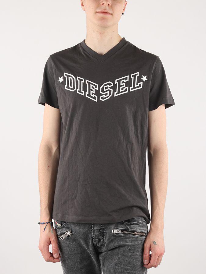d4c9734f6b2 Tričko Diesel T-KRITIL MAGLIETTA Čierna značky Diesel - Lovely.sk