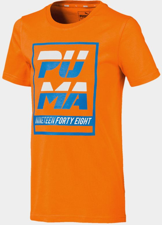 1d18a702 Tričko Puma Alpha Graphic Tee B Orange Popsicle Oranžová značky Puma -  Lovely.sk