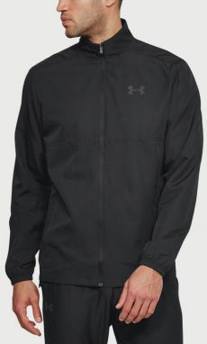 Bunda Under Armour Sportstyle Woven Fz Jacket Čierna