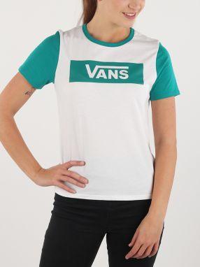 VANS Dámske tričko Authentic Water V VA2YY4WHT M značky Vans - Lovely.sk ce1b80ee14f