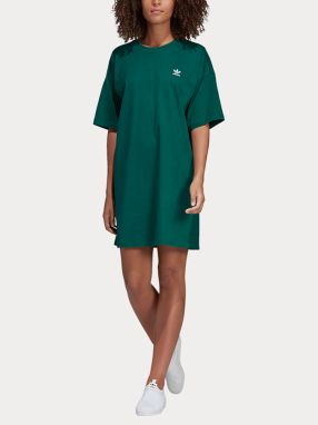 Šaty adidas Originals Trefoil Dress Zelená