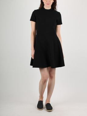 Šaty Superdry ERIN COLLAR BAND DRESS Čierna