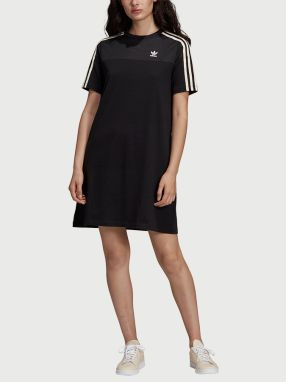 Šaty adidas Originals Tee Dress Čierna