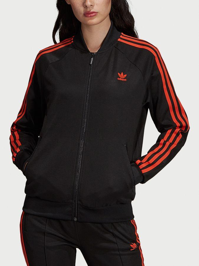2ca6f8ffc Mikina adidas Originals Sst Track Top Čierna značky adidas Originals -  Lovely.sk