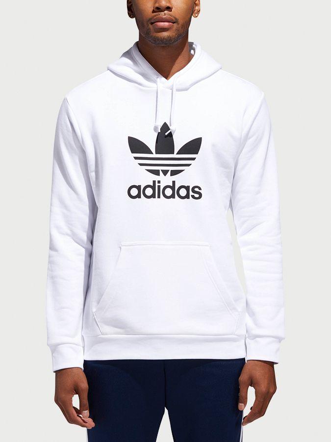 bb8ec104b Mikina adidas Originals Trefoil Hoodie Biela značky adidas Originals ...