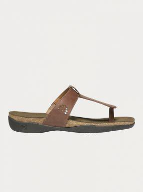 4bd90c3a6c2f Sandále Keen Kaci Ana T-Strap Sandal W Cafe Au Lai Hnedá značky Keen ...