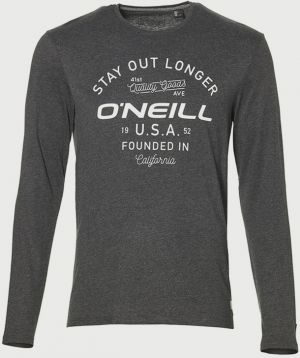 Tričko O´Neill LM Stay Out L/Slv T-Shirt Šedá