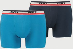 Boxerky LEVI'S 200Sf Olympic Color Boxer Brief 2 Pack Farebná