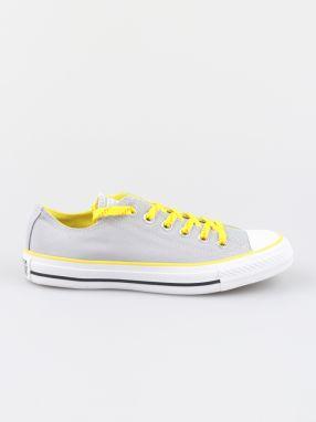 4e638695511a Converse sivé kožené tenisky Chuck Taylor All Star značky Converse ...