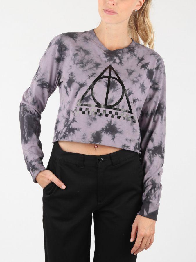 9c92c43147269 Tričko Vans Wm (Harry Potter) Deathly Hallows Šedá značky Vans ...