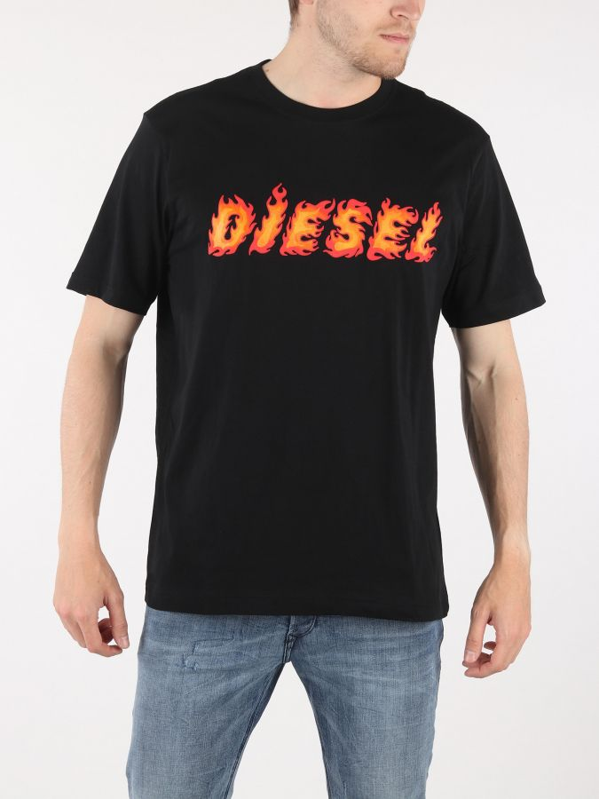 5645272899a9d Tričko Diesel T-Just-Sh Maglietta Čierna značky Diesel - Lovely.sk
