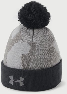 Čapica Under Armour Boy's Pom Beanie Upd Šedá