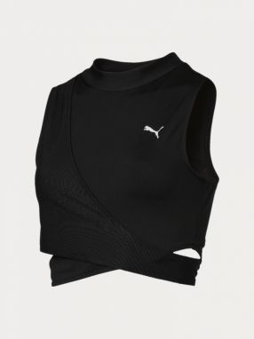 Top Puma Chase Crossover Top Čierna