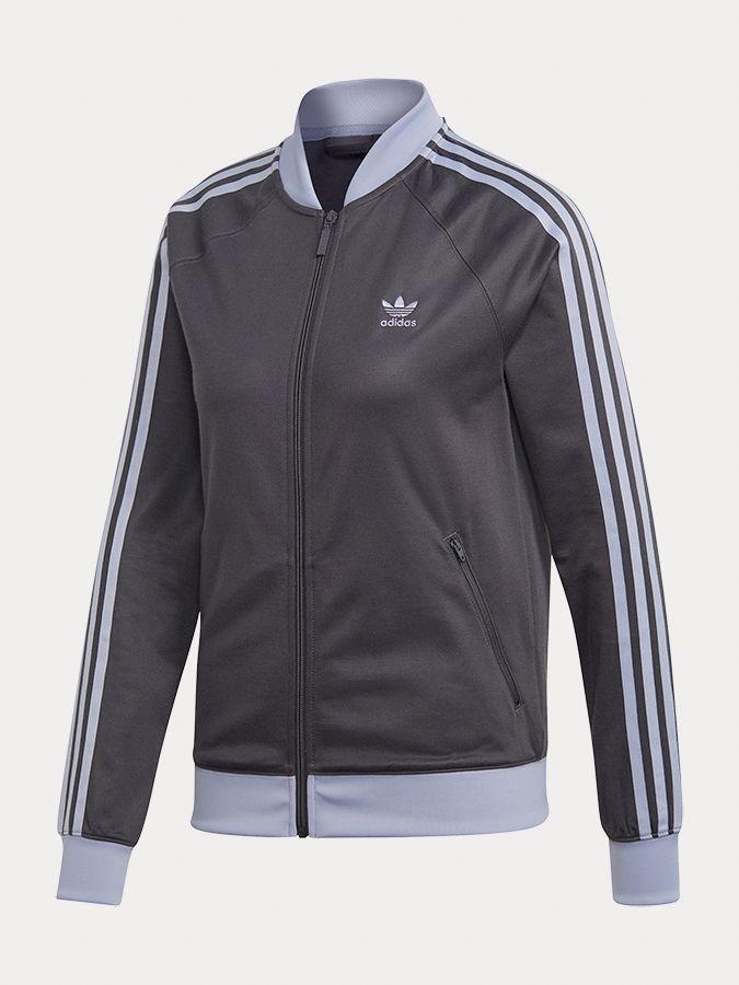 a12a51245 Mikina adidas Originals Sst Track Top Čierna značky adidas Originals ...