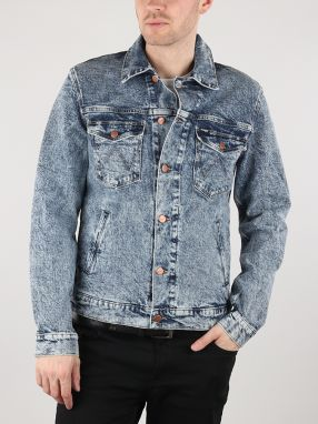 Bunda Wrangler Regular Jacket Glace Blue Modrá