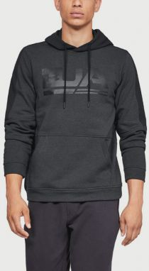 Mikina Under Armour Microthread Fleece Graphic Čierna