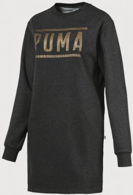 Šaty Puma ATHLETIC Dress FL Šedá