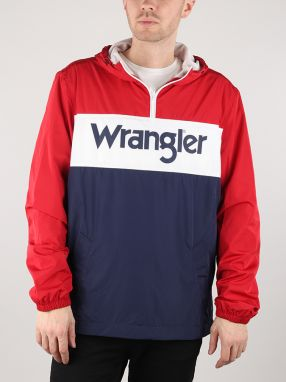 Bunda Wrangler Paul Pop-Over Scarlet Red Farebná