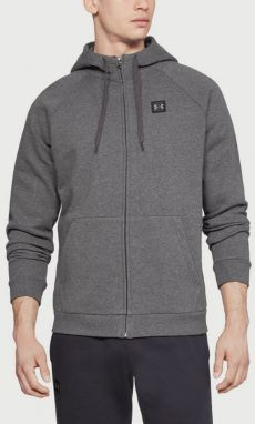 Mikina Under Armour Rival Fleece Fz Hoodie Šedá
