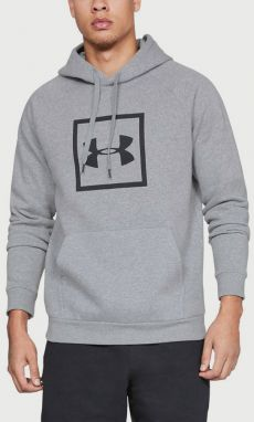 Mikina Under Armour Rival Fleece Logo Hoodie Šedá