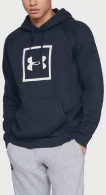 Mikina Under Armour Rival Fleece Logo Hoodie Modrá