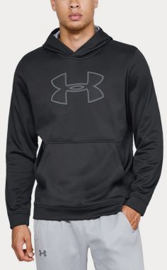 Mikina Under Armour Performance Fleece Graphic Hoody Čierna