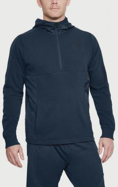 Mikina Under Armour Threadborne Terry Hoody Modrá
