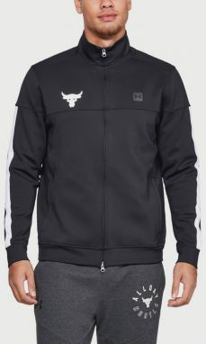 Bunda Under Armour Project Rock Track Jacket Čierna