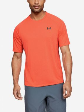 Tričko Under Armour Tech 2.0 Ss Tee Novelty-Red Oranžová
