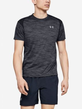 Tričko Under Armour Streaker 2.0 Time Lapse Shortsleeve-B Šedá