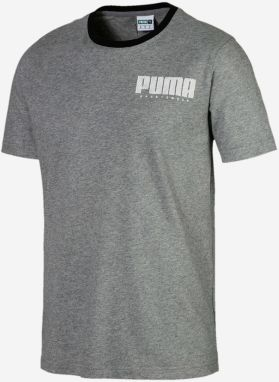 Tričko Puma Athletics Elevated Tee Šedá