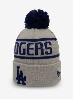 Čapica New Era MLB bobble knit kids LOSDOD Šedá