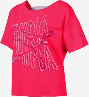 Tričko Puma Hit Feel It Tee Červená