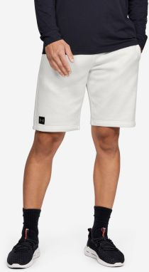 Kraťasy Under Armour Rival Fleece Short Biela
