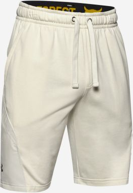 Kraťasy Under Armour Project Rock Terry Shorts Biela