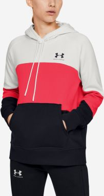 Mikina Under Armour Rival Fleece Color Block Hoodie Farebná
