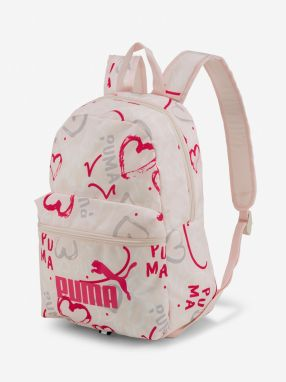 Ruksak Puma Phase Small Backpack Růžová