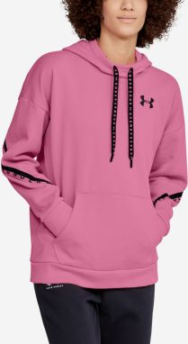 Mikina Under Armour Fleece Hoodie Taped Wm Růžová