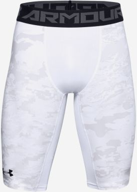 HeatGear® Armour Extra Long Printed Kraťasy Under Armour Biela