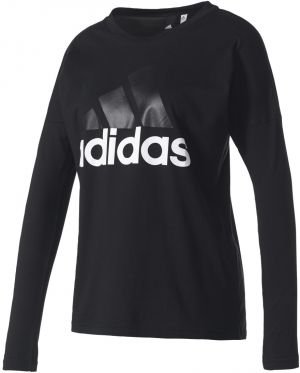 4dc891caa9e1 ... tielka Tričká s dlhým rukávom. adidas Ess Li Losleeve čierna galéria