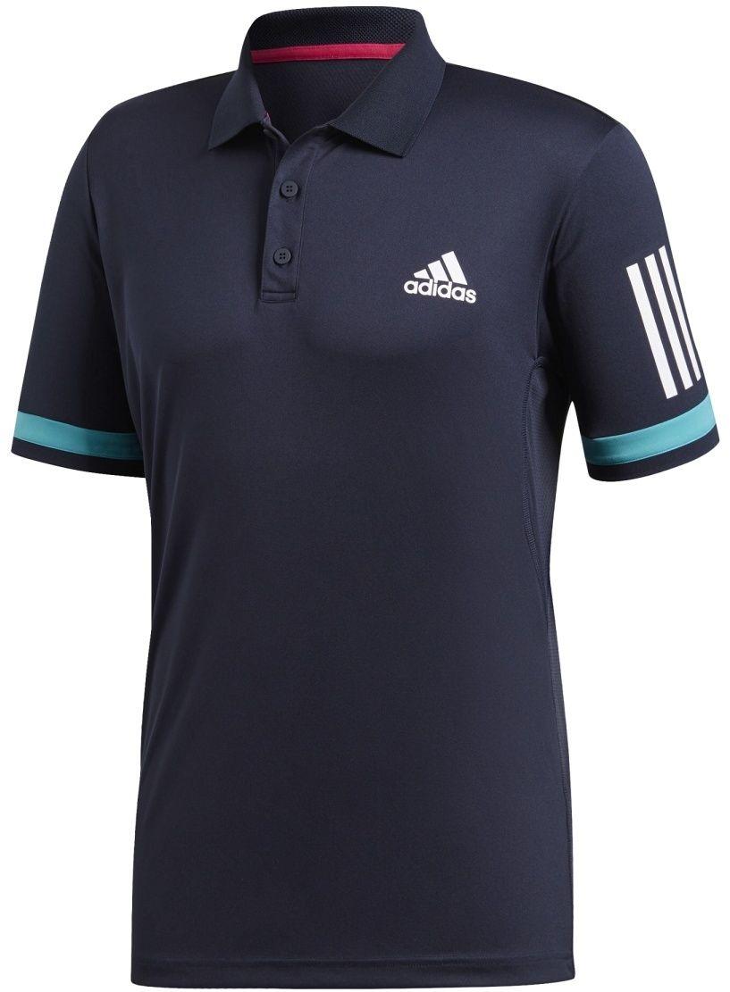 87359392d5f7 adidas Club 3Str Polo modrá M značky Adidas - Lovely.sk