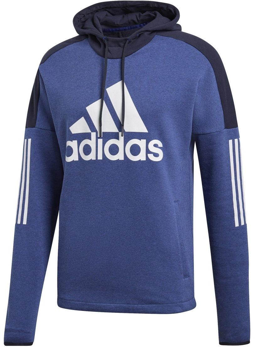 adidas M Sid Lgo Po Fl modrá značky Adidas - Lovely.sk abc07c1be8a
