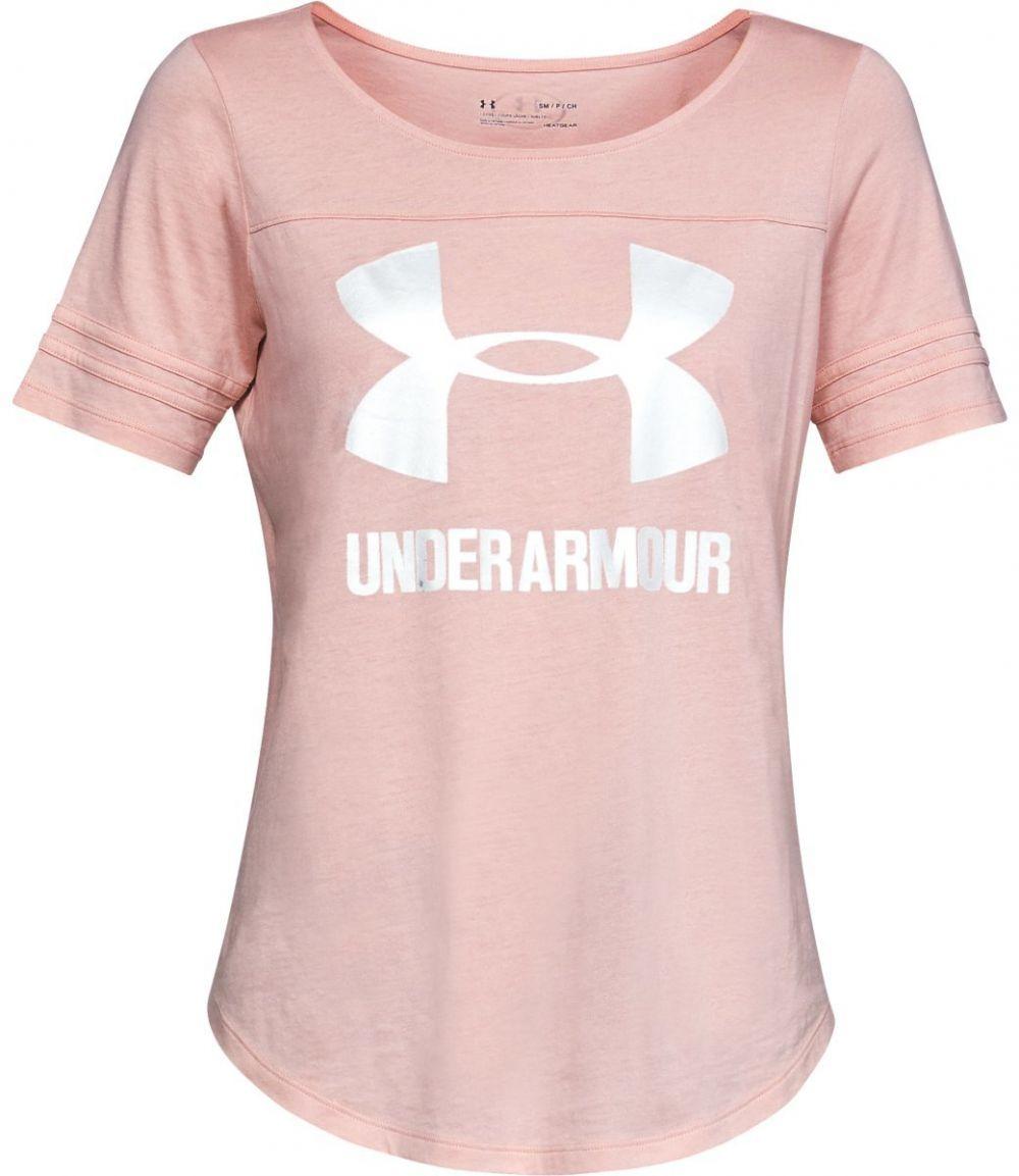 72715769f224 Under Armour Sportstyle Baseball T ružová XS značky UNDER ARMOUR - Lovely.sk