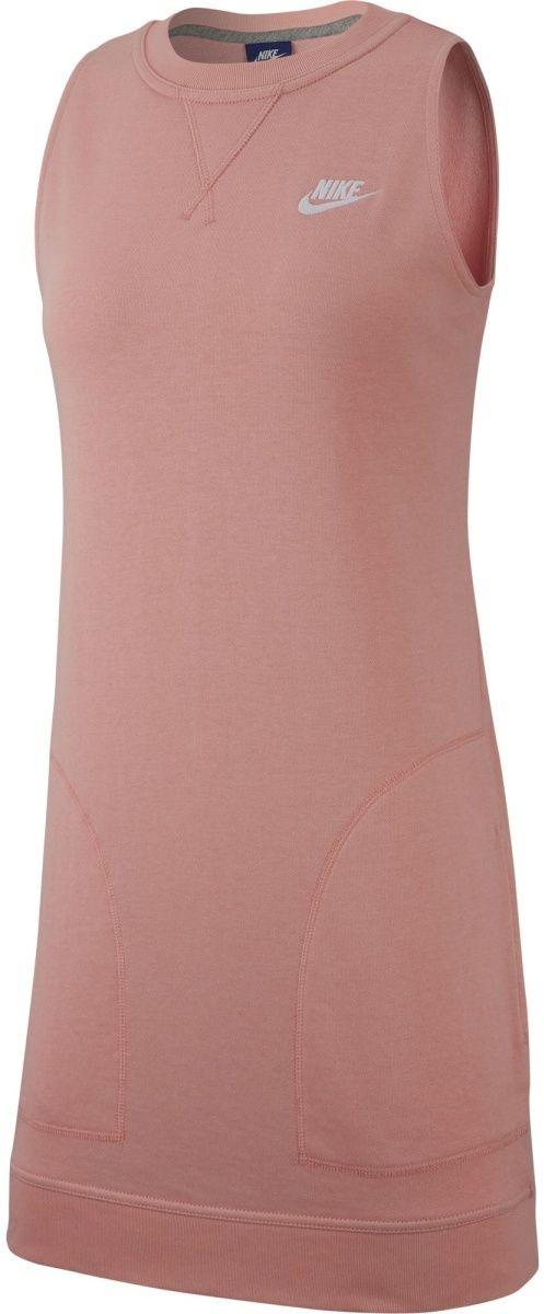 817f1567ebb2 Nike W Nsw Drss Ft ružová značky Nike - Lovely.sk