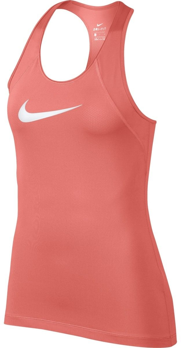 Nike W Np Tank All Over Mesh červená značky Nike - Lovely.sk c1219d19ac5