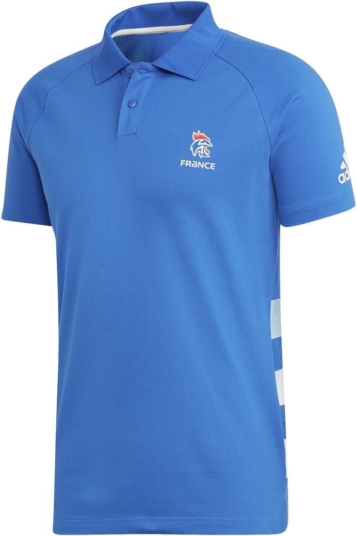 70fdb00c5022 adidas FFHB Casual Polo Shirt modrá značky Adidas - Lovely.sk