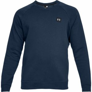 Under Armour Rival Fleece Crew modrá