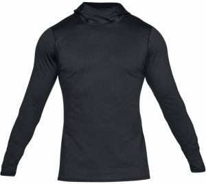 Under Armour Fitted Hoodie čierna