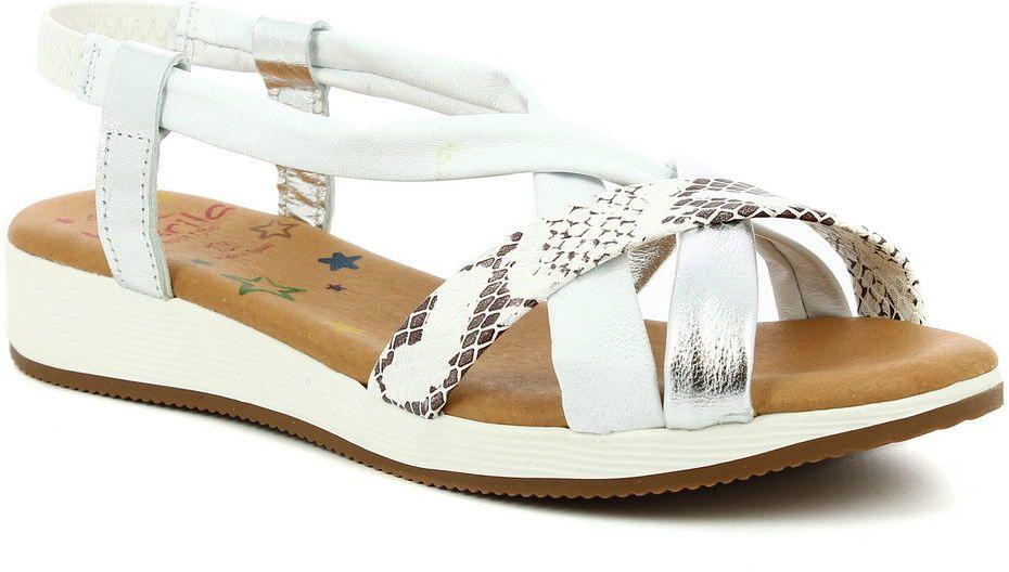 ef8f1ae07243 Dámske kožené sandále Marila značky Marila - Lovely.sk